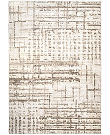 "Adagio City Blocks Natural 6'5"" x 9'6"" Area Rug"