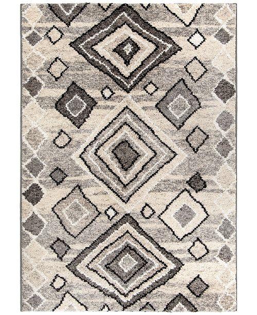 "Palmetto Living Casablanca Tribal 04 Multigray 5'3"" x 7'6"" Area Rug"