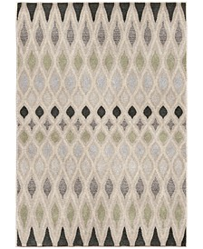 """Riverstone Laveen Cloud Gray 6'7"""" x 9'6""""  Area Rug"""