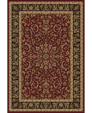 Closeout! Km Home 1318/1530/Burgundy Navelli Red 3'3