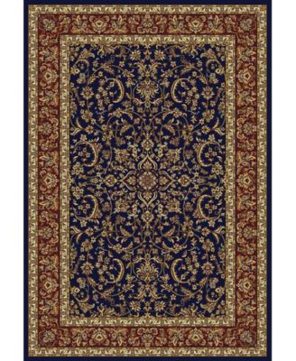 """CLOSEOUT! 1318/1541/NAVY Navelli Blue 5'5"""" x 8'3"""" Area Rug"""