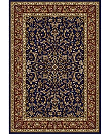 "CLOSEOUT! 1318/1541/NAVY Navelli Blue 5'5"" x 8'3"" Area Rug"