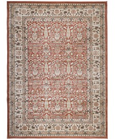"CLOSEOUT! 3812/1030/TERRACOTTA Gerola Red 3'3"" x 4'11"" Area Rug"