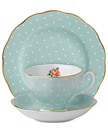 Royal Albert Old Country Roses Polka Rose 3-Piece Set