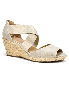 Hudlin Espadrille Wedge Sandals