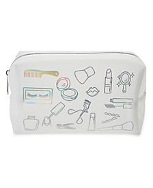 Toiletries All Over Print Cosmetic Bag