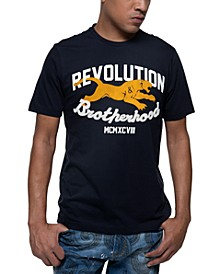 Men's Revolution & Brotherhood Graphic T-Shirt