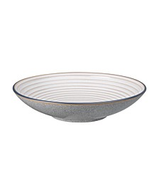 Studio Craft Grey Large Ridged Bowl