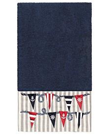 100% Turkish Cotton Ethan Embellished Bath Towel