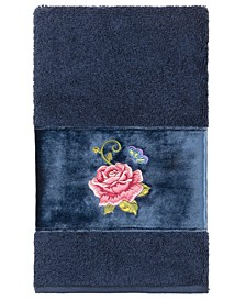 100% Turkish Cotton Rebecca Embellished Hand Towel