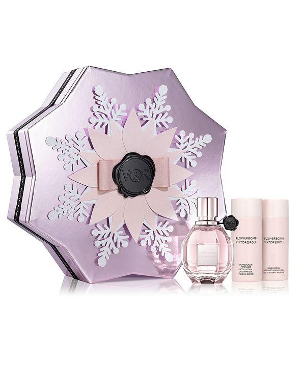Viktor & Rolf Viktor&Rolf 3-Pc. Flowerbomb Eau de Parfum Gift Set