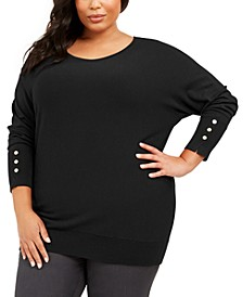 Plus Size Dolman Sweater, Created For Macy's