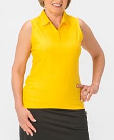 Nancy Lopez Grace Sleeveless Polo Plus