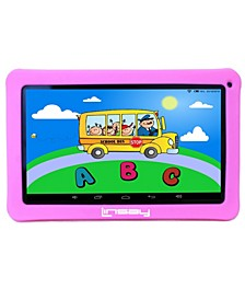 "10.1"" New Kids Funny Tablet 16 GB Android 6.0 with Defender Case 1024 X 600 HD"