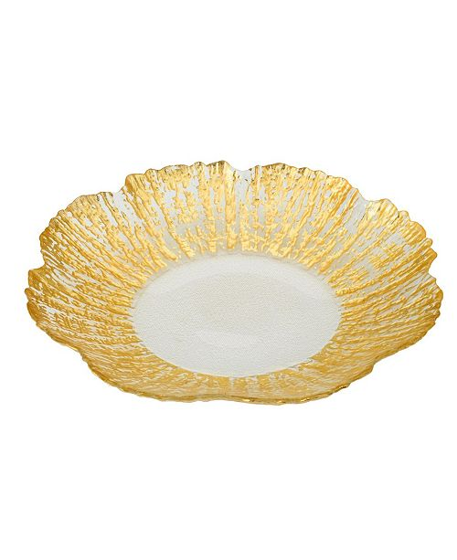 Classic Touch Scalloped Platter
