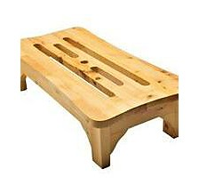 ALFI brand 24'' Wooden Stool For Your Wooden Tub