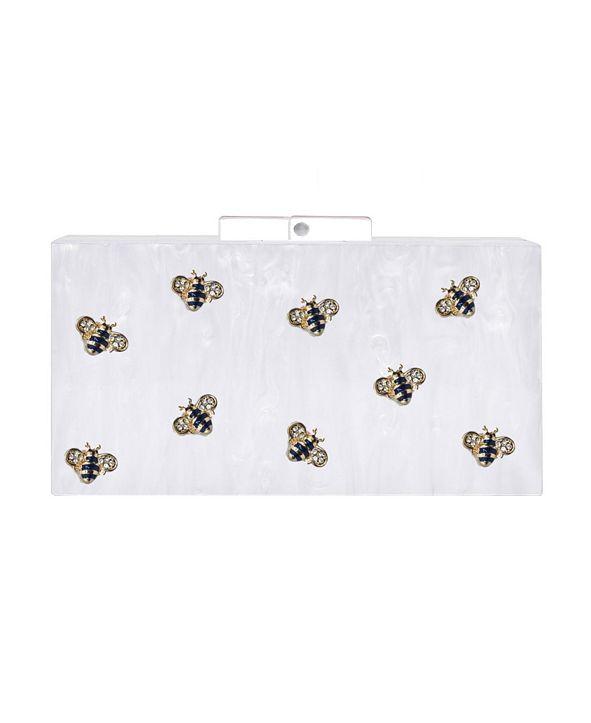 Milanblocks Bee Acrylic Box Clutch