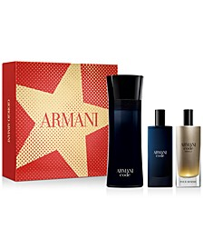 Men's 3-Pc. Armani Code Gift Set