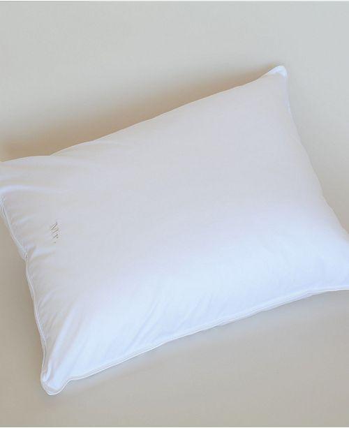 The Pillow Bar Down Alternative King Front Sleeper Pillow