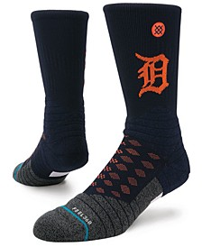 Detroit Tigers Diamond Pro Authentic Crew Socks