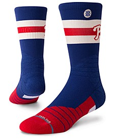 Philadelphia Phillies Diamond Pro Authentic Crew Socks