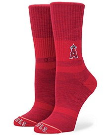 Women's Los Angeles Angels Classic Crew Socks