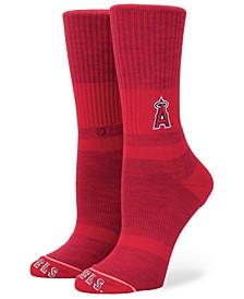 Women's Los Angeles Angels Classic Crew Socks