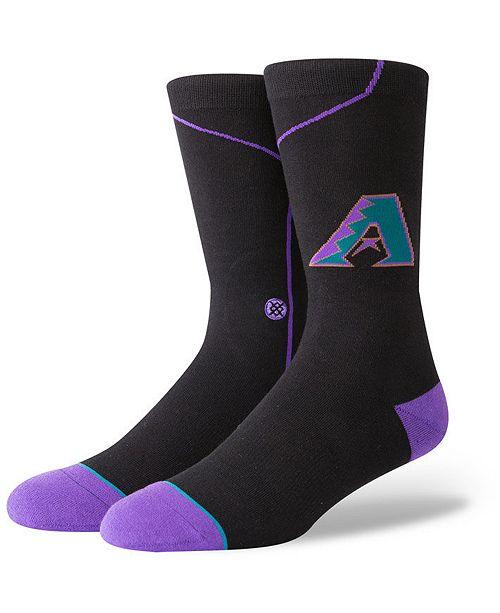 Stance Arizona Diamondbacks Coop Jersey Crew Socks