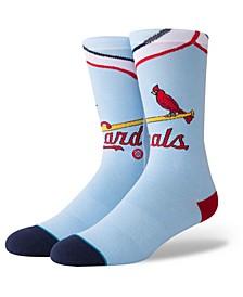 St. Louis Cardinals Coop Jersey Crew Socks