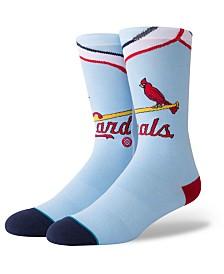 Stance St. Louis Cardinals Coop Jersey Crew Socks