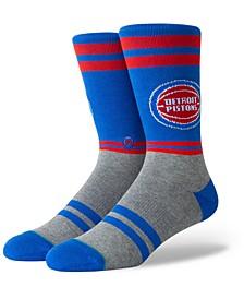 Detroit Pistons City Gym Crew Socks