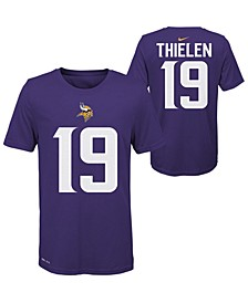 Big Boys Adam Thielen Minnesota Vikings Pride Name and Number T-Shirt