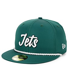 New York Jets On-Field Sideline Home 59FIFTY Fitted Cap