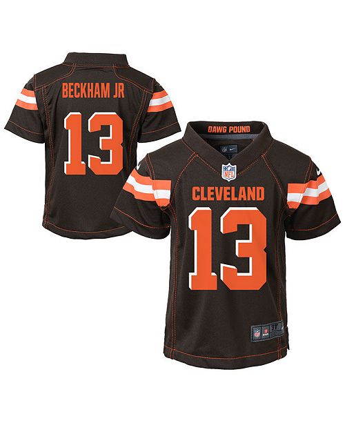 Nike Little Boys Odell Beckham Jr. Cleveland Browns Game Jersey
