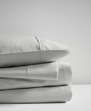 Beautyrest 400 Thread Count King 4-Piece Wrinkle Resistant Cotton Sateen Sheet Set Bedding