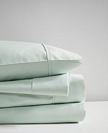 400 Thread Count Queen 4-Piece Wrinkle Resistant Cotton Sateen Sheet Set