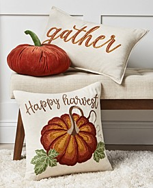 Harvest Decorative Pillow Collection, Created For Macy's