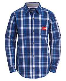 Big Boys Plaid Shirt