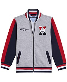 Big Boys Wayne Colorblocked Varsity Jacket