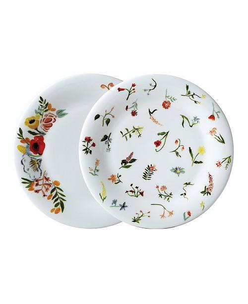 "Twig New York Language of Flowers 8.5"" Salad Plates - Set of 2"