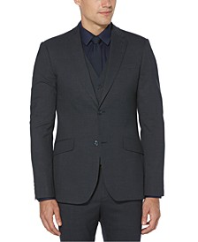 Men's Slim-Fit Machine-Washable Suit Jacket