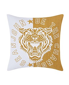 "Be the Change 18"" Square Decorative Pillow"