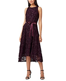 Sleeveless Embellished Dress