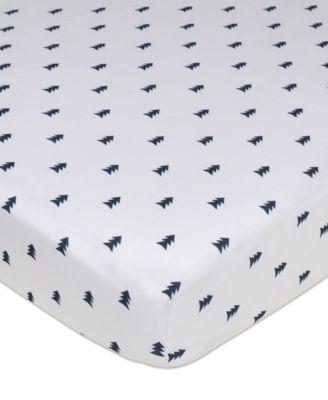 Pine Tree Crib Sheet