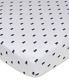 Pine Tree Crib Sheet