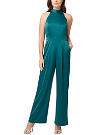 Sleeveless Halter Jumpsuit