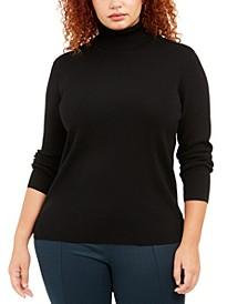 Plus Size Turtleneck Sweater