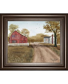 """Summer in The Country by Billy Jacobs Framed Print Wall Art - 22"""" x 26"""""""