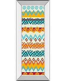 """Navajo Mission Il by Nicholas Biscardi Mirror Framed Print Wall Art - 18"""" x 42"""""""