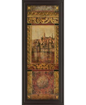 "New Enchantment I by Douglas Framed Print Wall Art - 18"" x 42"""